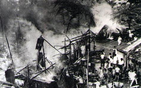 Bukit Ho Swee Fire 25th May 1961