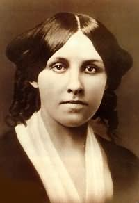 Louisa May Alcott (November 29, 1832 – March 6, 1888), American novelist, at age 20