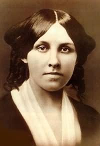 Louisa May Alcott (November 29, 1832 – March 6, 1888), American novelist, at age 20
