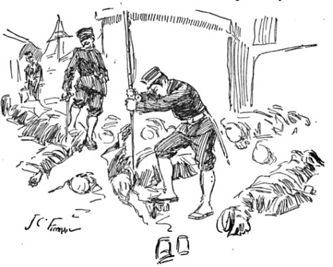 Port_Arthur_MassacreA Western newspaper's depiction of Japanese soldiers mutilating bodies. 21st November 1894