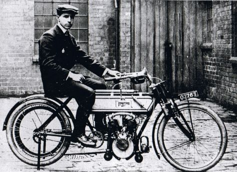 The first Isle of Man TT motorcycle race was held on the 29th of May, 1907. British racer Rem Fowler, who won the twin-cylinder race.