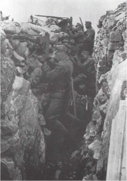 424px-Schützengraben_im_KarstThe First Battle of the Isonzo was fought between the Armies of Italy and Austria-Hungary on the Italian Front in World War I, between 23 June and 7 July 1915.