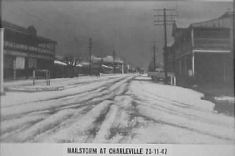 Charleville Hailstorm 23rd November 1947