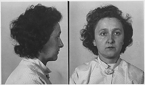 Ethel_Rosenberg_mugshotPolice booking photograph of Ethel Rosenberg.
