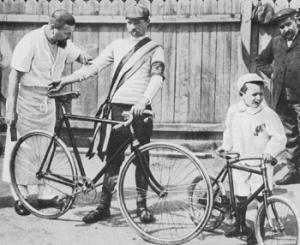 Maurice Garin, the winner of the 1903 Tour de France.