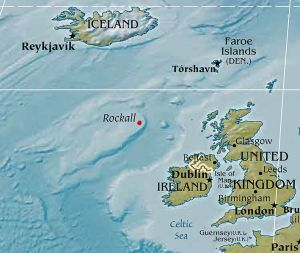 Rockall is an uninhabited granite islet within the exclusive economic zone (EEZ) of the United Kingdom.