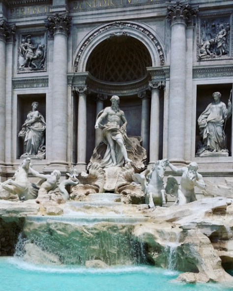 Sonya Heaney Trevi Fountain Rome