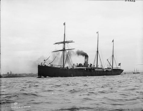 SS Norge was a Danish passenger liner sailing from Copenhagen, Kristiania and Kristiansand to New York, mainly with emigrants, which sank off Rockall in 1904.