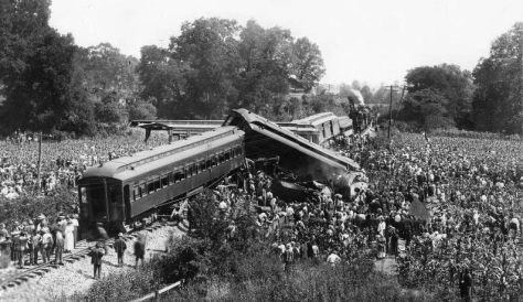 The Great Train Wreck of 1918 occurred on July 9, 1918, in Nashville, Tennessee.