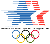 1984_Summer_Olympics_logo_svgGames of the XXIII Olympiad