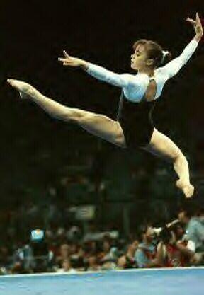 Lilia Podkopayeva floor exercise 1996 Atlanta Olympics Ukraine Ukrainian