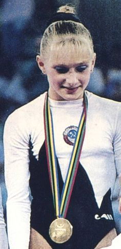 Tatiana Gutsu Ukraine 1992 Olmypic gymnastics champion