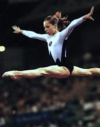 Tatiana Lysenko Ukraine 1992 Olympic gymnastics champion