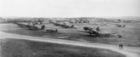 c-47s-exeter-ddayc-47s-of-the-440th-troop-carrier-group-at-raf-exeter-england-date-5-june-1944