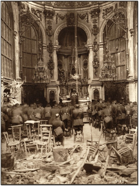 a-thanksgiving-service-attended-by-canadian-troops-being-held-in-the-cambrai-cathedral-notre-dame-de-grace-chapel-13th-october-1918
