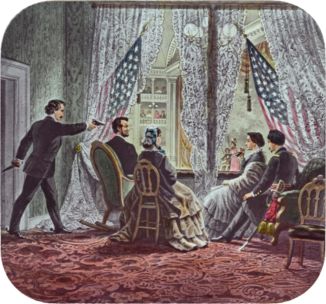lincoln_assassination_slide_c1900john-wilkes-booth-leaning-forward-to-shoot-president-abraham-lincoln-as-he-watches-our-american-cousin-at-fords-theatre-in-washington-d-c-15-april-1865