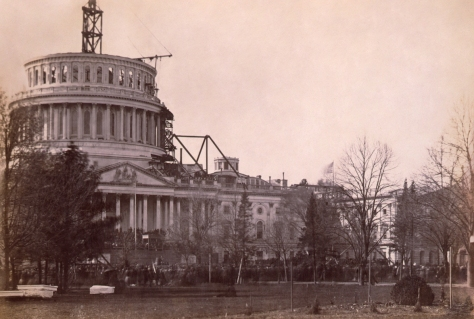 lincolninauguration1861aabraham-lincolns-first-inaugural-address-us-capitol-not-finished