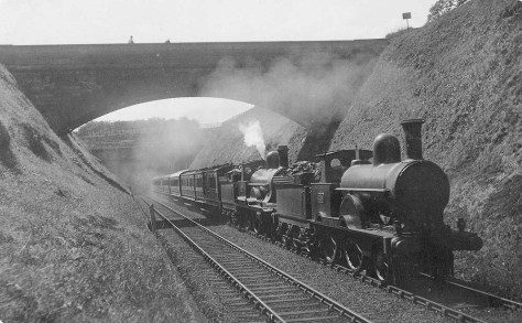 princess-beatrice-and-lnwr-4-4-0-no-1924-powerful-are-seen-exiting-beechwood-tunnel-on-the-2-05pm-new-street-to-euston-service-on-4th-july-1914