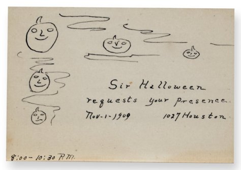small-handwritten-invitation-to-a-1909-halloween-party-kansas