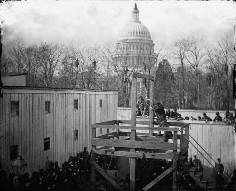 the-execution-of-henry-wirz-commandant-of-the-confederate-andersonville-prison-near-the-us-capitol-moments-after-the-trap-door-was-sprung-washington-d-c-10th-november-1865