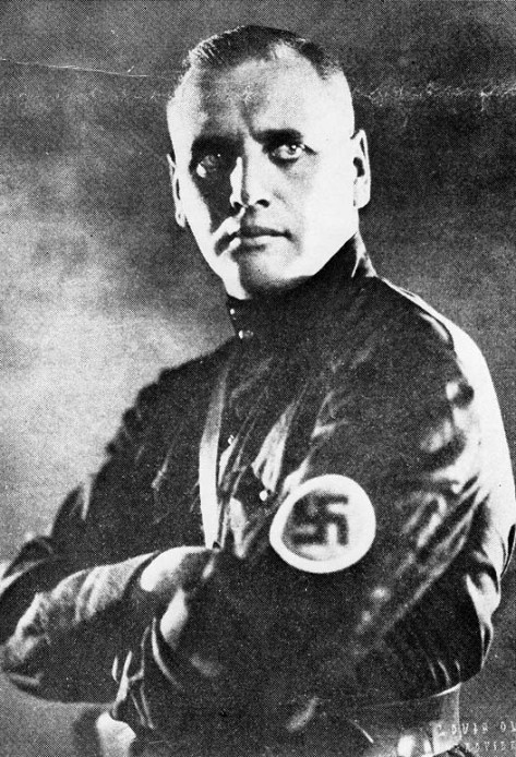 Anastase Andreivich Vonsiatsky, Vozhd of the All-Russian Fascist Party