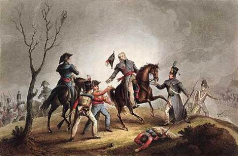 death-of-sir-john-moore-at-the-battle-of-corunna-derived-from-an-engraving-by-thomas-sutherland-and-aquatint-by-william-heath-16th-january-1809