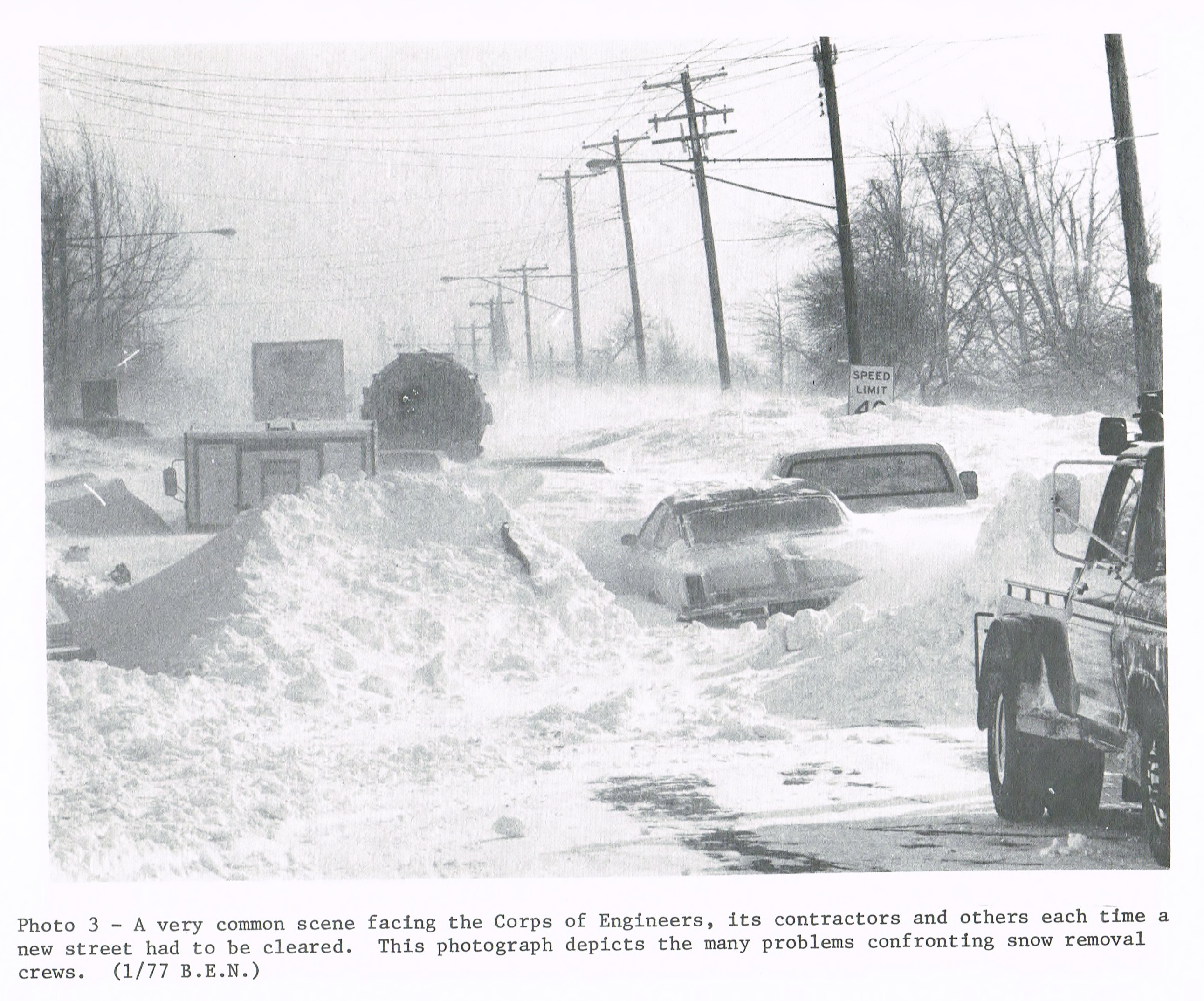 on this day  the first day of the blizzard of 1977