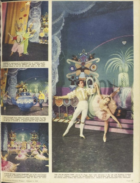 Borovansky Ballet's Nutcracker published in The Australian Women_s Weekly 8th February 1956.