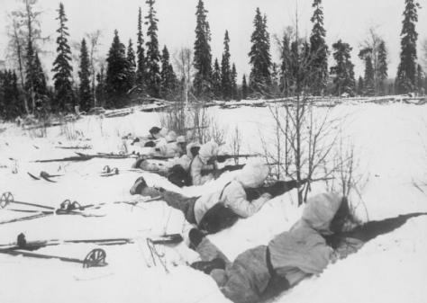 Finnish_ski_troops The Winter War, which began in November 1939 when the Soviet Union invaded Finland, ended on the 13th of March, 1940.