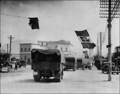 Italian_army_2Italian invasion of Albania 7th April 1939 Fascist Italy Italian Empire