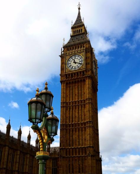 Sonya Heaney Christiopher Heaney London Big Ben Westminster Bridge February 2017