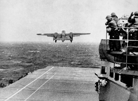 Army_B-25_(Doolittle_Raid)The Doolittle Raid, also known as the Tokyo Raid, on Saturday, April 18, 1942,