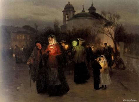ПимоненкоСтрастныйчетвергUkrainian Easter by Mykola Pymonenko 1887