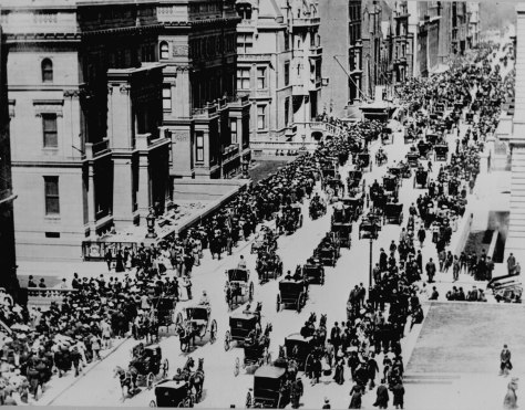 EasterParade1900 Fifth Avenue in New York City on Easter Sunday in 1900