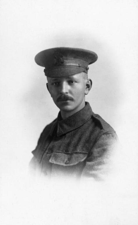 Rifleman_Harry_Edward_Burnham_Rifleman Harry Edward Burnham. Killed in action on Easter Sunday, 1917.