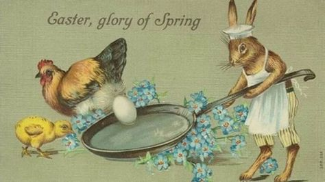 The odd world of Victorian Easter cards._88625055_71169fe2-76ab-4e78-af91-4e76f386b274