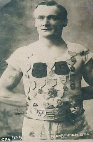 walter-tysall-british-gymnast-in-the-1908-summer-olympics-born-in-birmingham-and-died-in-ashton-on-ribble-1908-he-won-the-silver-medal-in-the-individual-all-around