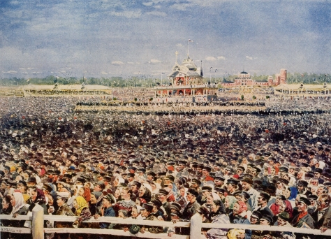 Chodynka The Khodynka Tragedy (Russian Ходынская трагедия) was a human stampede that occurred on 30 May [O.S. 18 May] 1896, in Moscow Russia during festivities after the