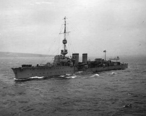 HMS Castor was one of the Cambrian subclass of the C-class of light cruisers. She saw service during the First World War and the Russian Civil War.