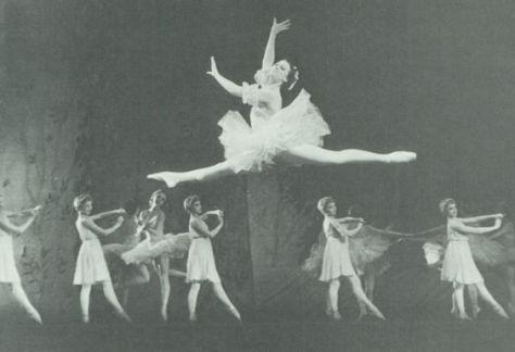 Maya Plisetskaya Grand Jete Ballet Vintage