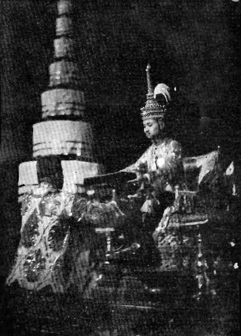 Prajadhipok's_coronation_records_-_001 King Prajadhipok signing the Constitution of Siam, 10 December 1932.