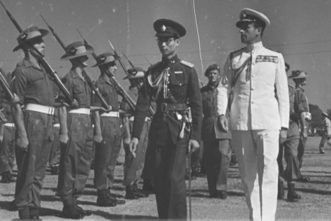 Ananda_Mahidol_and_Louis_Mountbatten_in_19_January_1946 King Ananda Mahidol and Louis Mountbatten on 19 January 1946. Thai History British