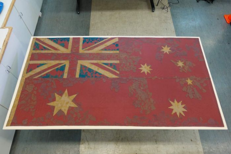 Australia's First Flag Found and Restored