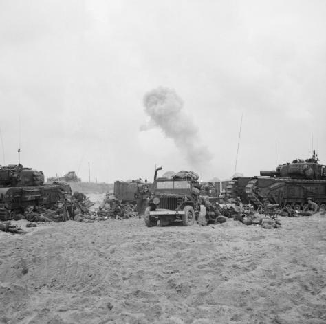 D-day_-_British_Forces_during_the_Invasion_of_Normandy,_6th_June_1944_B5085 D-day - British Forces during the Invasion of Normandy, 6th June 1944 .