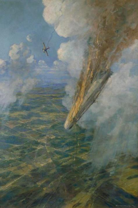 Lieutenant_Warneford's_Great_Exploit-_the_first_Zeppelin_to_be_brought_down_by_Allied_aircraft,_7th_June_1915__the_Vc_was_conferred_at_once_on_Lieutenant_Warneford__Art_IWMART307