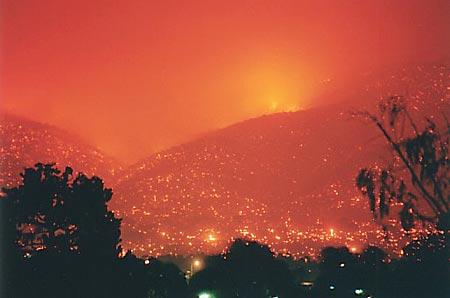 2003_Canberra_Firestorm-Woden 2003 Canberra Firestorm. 18th January 2003 Canberra_hills-18-01-2003