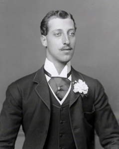 Albert_Victor_late_1880s Albert Victor photographed by Bassano, c. 1888.