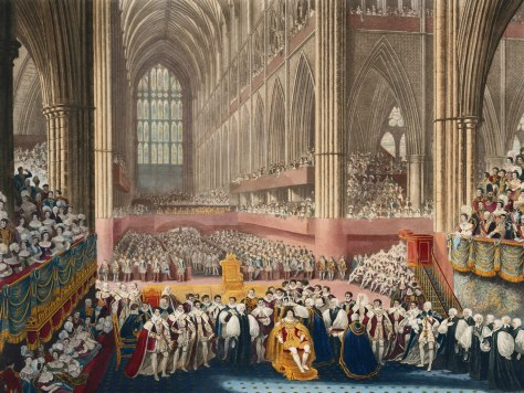Coronation_of_George_IV Coronation of King George IV 19th July 1821 by James Stephanoff