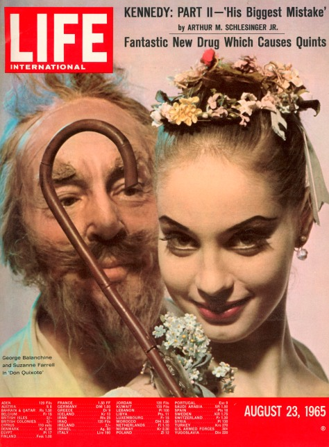 LIFE INTERNATIONAL cover 08-23-1965 Choreographer George