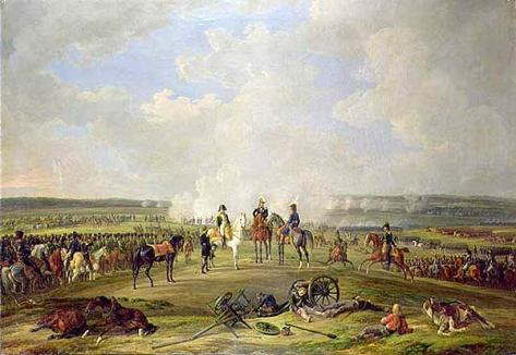 Napoleon-and-his-troops-at-Beshenkovichi-24th-july-1812 Beshankovichy Belarus Painting Art